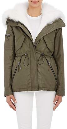 SAM. Women's Fur-Lined Hooded Jacket