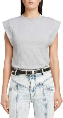 Isabel Marant Back Cutout Muscle Tee