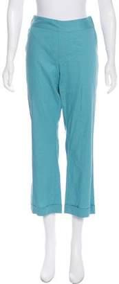 Calypso Mid-Rise Wide-Leg Pants w/ Tags