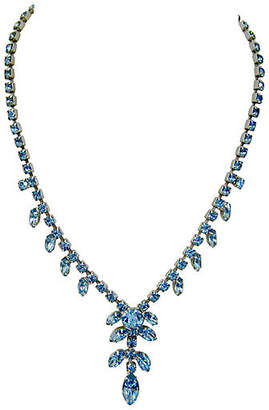 One Kings Lane Vintage Deco-Style Crystal Cocktail Necklace