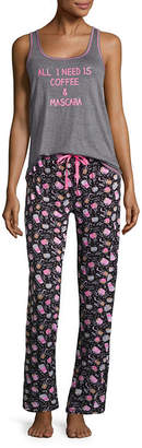 Asstd National Brand 2-pack Pattern Pant Pajama Set