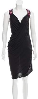AllSaints Asymmetrical Draped Dress