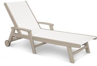 Polywood Coastal Chaise - Sand