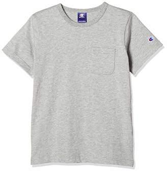 Champion (チャンピオン) - [チャンピオン] ポケット付きTシャツ CX7174 オックスフォードグレー 日本 130 (日本サイズ130 相当)