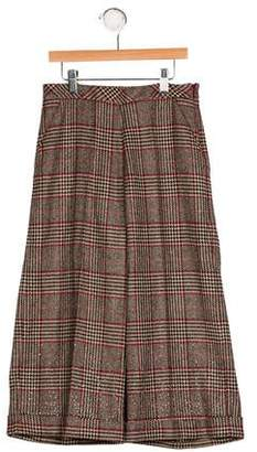 Ermanno Scervino Girls' Virgin Wool Embellished Pants w/ Tags