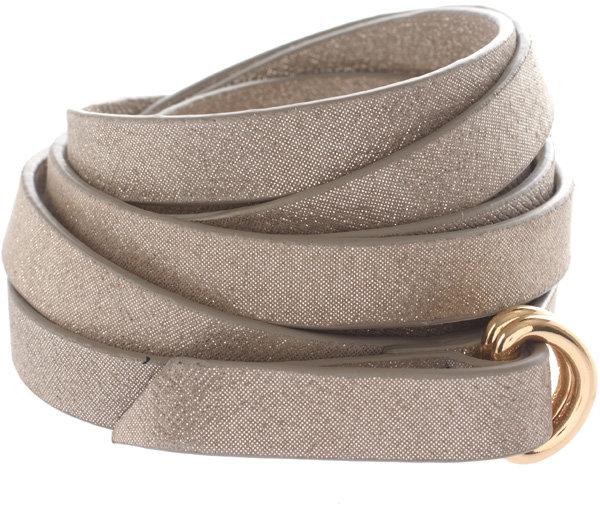 Halston Heritage Skinny Ring Belt