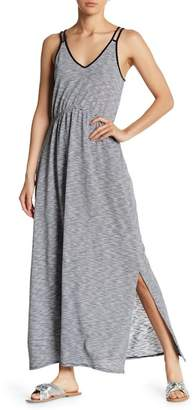Joe Fresh Stripe Double Strap Maxi Dress