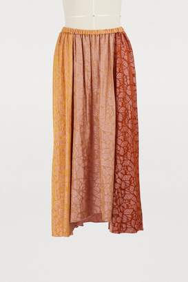 Forte Forte Long jacquard skirt