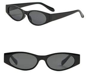 MANGO Rectangular Framed Sunglasses