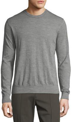 Vince Wool Striped Crewneck Sweater