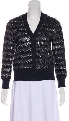 Marc Jacobs Embellished Wool Cardigan