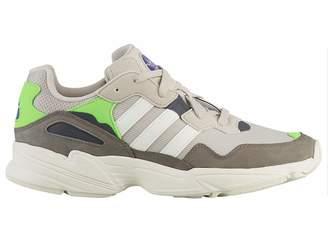 8ebc49c3933 adidas Yung-96 - Men s Clear Brown Off White Solar Green Nylon Running