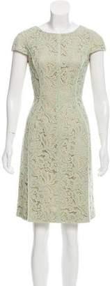 J. Mendel Lace Sheath Dress