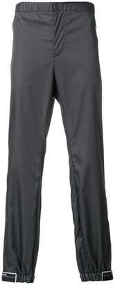 Prada Rubber Tag Track Pants