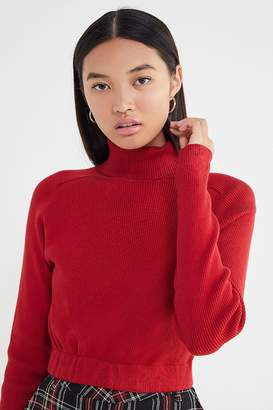 Urban Renewal Vintage Recycled Cropped Turtleneck Sweater