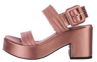 Pedro Garcia Decima Platform Sandals