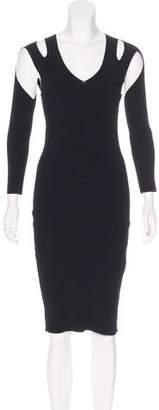 Alexander McQueen Cutout Bodycon Dress