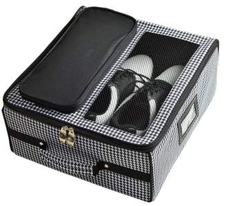 Picnic at Ascot Houndstooth Golf Trunk Organizer