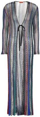 Missoni Striped crochet cardigan