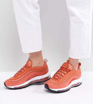 Nike 97 Trainers In Coral