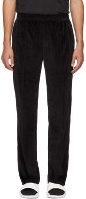 Opening Ceremony Black Velour Lounge Pants