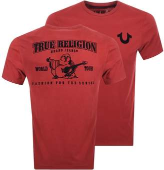 True Religion Buddha Logo T Shirt Red