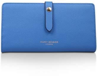 Kurt Geiger London New Saff Soft Wallet Flap-Over Purses