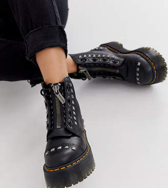 Dr. Martens x ASOS exclusive studded Sinclair chunky boots in black