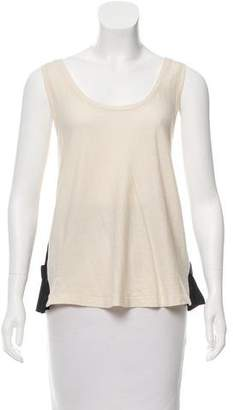 Band Of Outsiders Sleeveless Scoop Neck Top w/ Tags