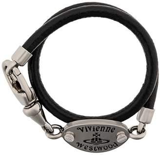 Vivienne Westwood logo bracelet