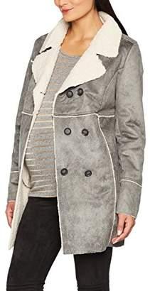 Noppies Women's Jacket ls Haven 70652 Maternity (Grey Melange C246), 10 (Size: S)