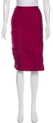 Nina Ricci Silk-Blend Skirt