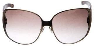 Christian Dior Jewel-Embellished Oversize Sunglasses