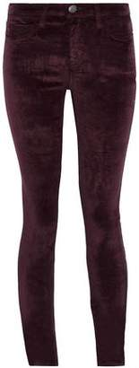 Current/Elliott The Stiletto Velvet Skinny Pants