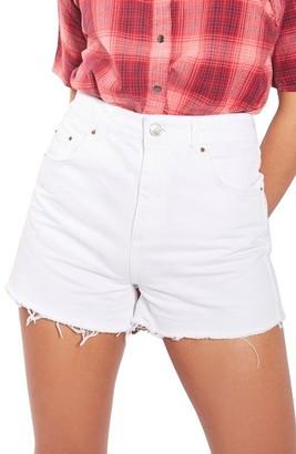 Topshop Women's Mom Shorts