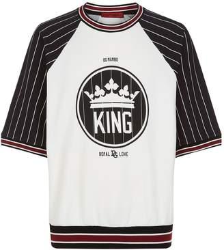 Dolce & Gabbana King Elbow Sleeve Sweatshirt