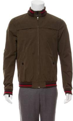 Band Of Outsiders Zip-Front Bomber Jacket