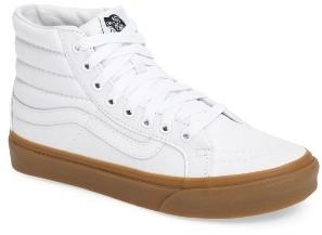 Women's Vans Sk-8 Hi Slim Light Gum Sneaker $59.95 thestylecure.com