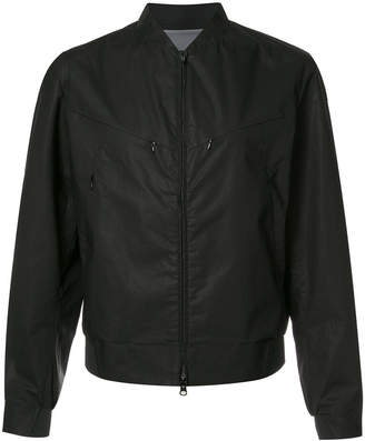 Y-3 zip up bomber jacket