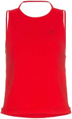 Telfar sleeveless halter neck t-shirt