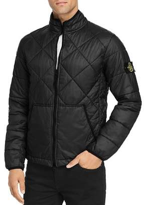Stone Island Garment-Dyed Quilted Ripstop Puffer Jacket
