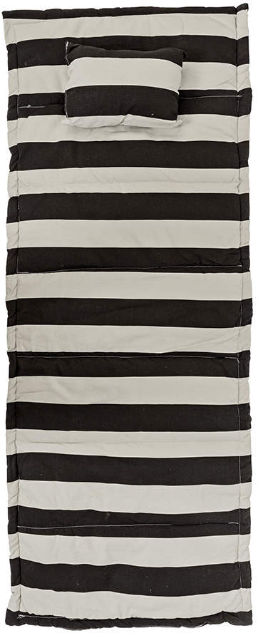 Bloomingville - Cotton Beach Mat - Black