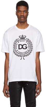 Dolce & Gabbana White Coin T-Shirt