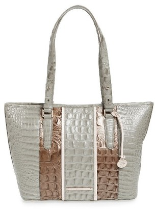 Brahmin Medium Asher Tarama Leather Tote - Green $315 thestylecure.com