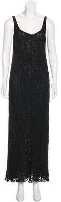 Donna Karan Sleeveless Maxi Dress