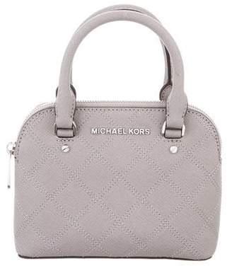 MICHAEL Michael Kors Quilted Mini Handle Bag