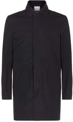 Johnstons of Elgin Collared Trench Coat