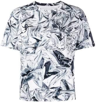 MM6 MAISON MARGIELA crinkle printed T-shirt