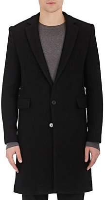 IRO Men's Ivan Brushed Virgin Wool-Blend Flannel Coat