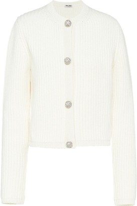 Miu Miu embellished buttons cardigan